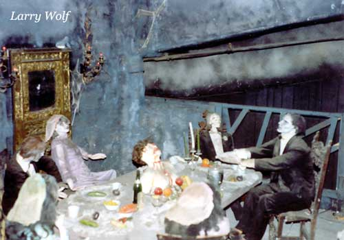 haunted mansion of long branch: pictures - haunted mansion interior
